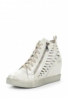 Кеды на танкетке, Sweet Shoes, цвет: белый. Артикул: SW010AWRWL37. Женская обувь / Кроссовки и кеды