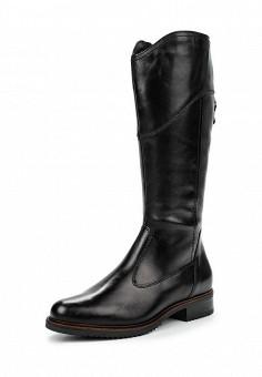 Сапоги, Tamaris, цвет: черный. Артикул: TA171AWJNC09. Женская обувь / Сапоги