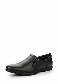 Лоферы, Tesoro, цвет: черный. Артикул: TE947AMQCH02. Мужская обувь / Туфли / Лоферы