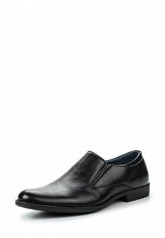 Лоферы, Tesoro, цвет: черный. Артикул: TE947AMQCI61. Мужская обувь / Туфли / Лоферы