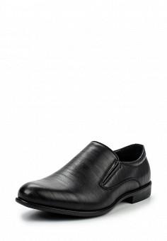 Лоферы, Tesoro, цвет: черный. Артикул: TE947AMQCI82. Мужская обувь / Туфли / Лоферы