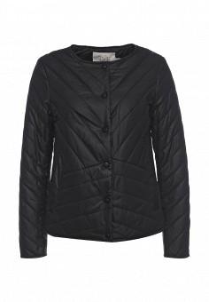 Куртка утепленная, Time For Future, цвет: черный. Артикул: TI016EWRJE32. Женская одежда / Верхняя одежда / Демисезонные куртки