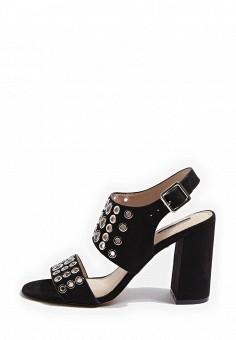 Босоножки, Topshop, цвет: черный. Артикул: TO029AWRUN50. Женская обувь / Босоножки