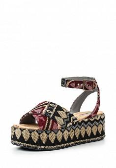 Босоножки, Topshop, цвет: мультиколор. Артикул: TO029AWSQI14. Женская обувь / Босоножки