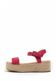 Босоножки, Topshop, цвет: фуксия. Артикул: TO029AWSQI19. Женская обувь / Босоножки