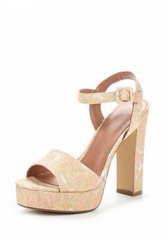 Босоножки, Topshop, цвет: розовый. Артикул: TO029AWUQR84. Женская обувь / Босоножки