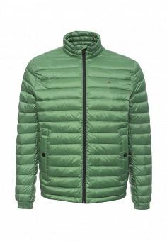 Пуховик, Tommy Hilfiger, цвет: зеленый. Артикул: TO263EMOCP96. Мужская одежда / Верхняя одежда / Пуховики и зимние куртки