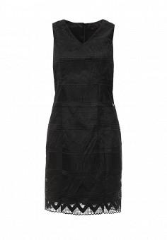 Платье, Trussardi Jeans, цвет: черный. Артикул: TR016EWOOP67. Женская одежда