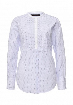 Рубашка, Trussardi Jeans, цвет: голубой. Артикул: TR016EWOOQ00. Женская одежда