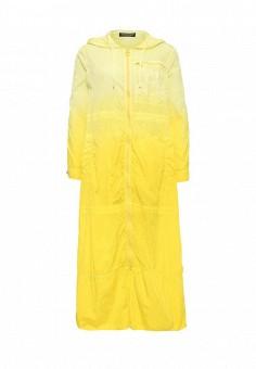 Плащ, Twin-Set Simona Barbieri, цвет: желтый. Артикул: TW005EWOWK15. Премиум / Одежда / Верхняя одежда / Плащи и тренчкоты