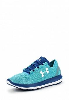 Кроссовки, Under Armour, цвет: бирюзовый. Артикул: UN001AWOJB00. Женская обувь / Кроссовки и кеды