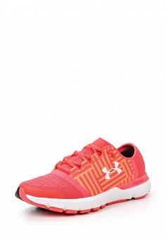 Кроссовки, Under Armour, цвет: коралловый. Артикул: UN001AWTVL19. Женская обувь / Кроссовки и кеды
