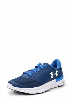 Кроссовки, Under Armour, цвет: синий. Артикул: UN001AWTVM34. Женская обувь / Кроссовки и кеды