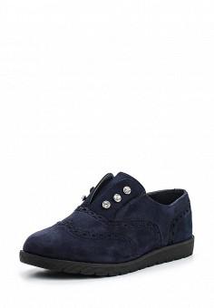 Ботинки, VH, цвет: синий. Артикул: VH001AWSOA93. Женская обувь / Ботинки / Низкие ботинки