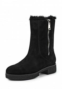 Полусапоги, Vitacci, цвет: черный. Артикул: VI060AWKGL08. Женская обувь / Сапоги