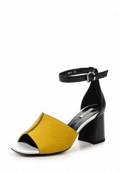 Босоножки, Vitacci, цвет: желтый. Артикул: VI060AWPTR87. Женская обувь / Босоножки