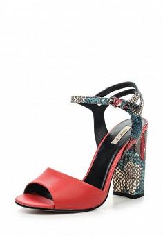Босоножки, Vitacci, цвет: красный. Артикул: VI060AWPTS09. Женская обувь / Босоножки