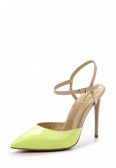 Босоножки, Vitacci, цвет: желтый. Артикул: VI060AWPTV45. Женская обувь / Босоножки
