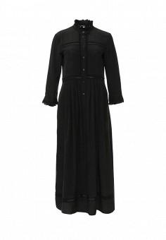 Платье, Weekend Max Mara, цвет: черный. Артикул: WE017EWORB29. Женская одежда / Платья и сарафаны / Вечерние платья