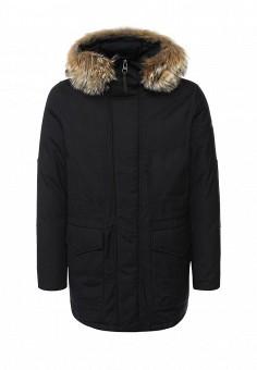 Пуховик, Woolrich, цвет: синий. Артикул: WO256EMKWT30. Мужская одежда / Верхняя одежда / Пуховики и зимние куртки