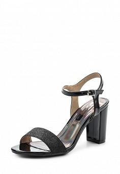 Босоножки, XTI, цвет: черный. Артикул: XT003AWRHQ39. Женская обувь / Босоножки
