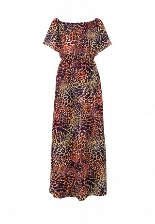 Платье CLIO PRINTED MAXI DRESS - ANIMAL