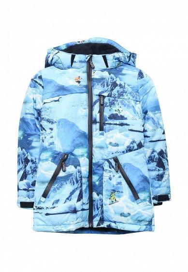 Куртка утепленная голубой AC008EBNMF39 Китай  - купить со скидкой