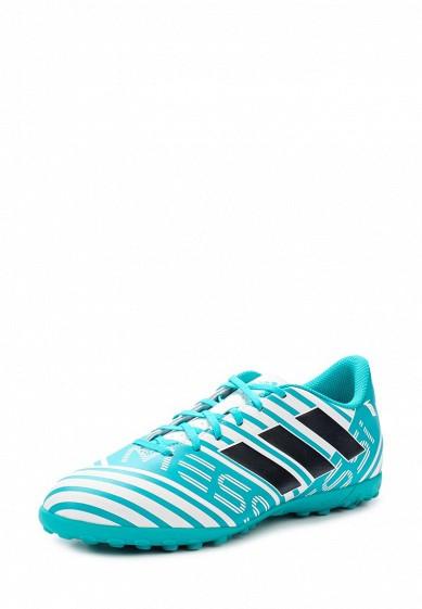 Купить Шиповки adidas Performance NEMEZIZ MESSI 17.4 TF бирюзовый AD094AMUOX63 Индонезия
