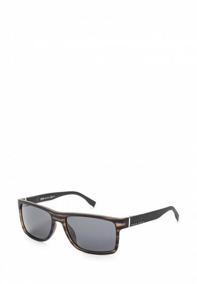 Купить Очки солнцезащитные Boss Hugo Boss BOSS 0919/S 2Q5 коричневый BO010DMYCC57 Италия