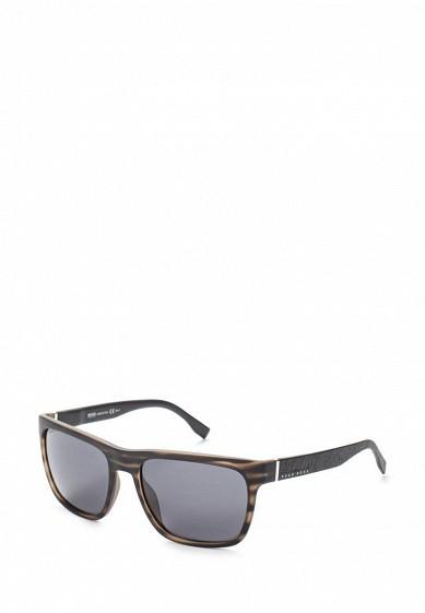 Купить Очки солнцезащитные Boss Hugo Boss BOSS 0918/S 2Q5 коричневый BO010DMYCC58 Италия