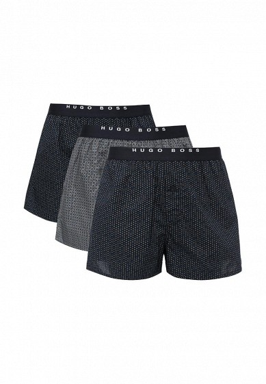 Комплект трусов 2 шт. Boss серый, синий BO246EMUSY46 Тайланд  - купить со скидкой