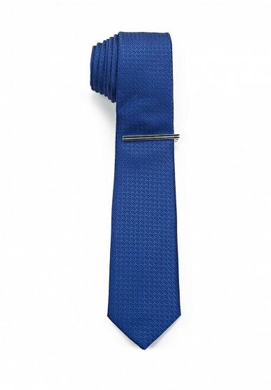 Купить Галстук Burton Menswear London синий BU014DMXXX27 Китай
