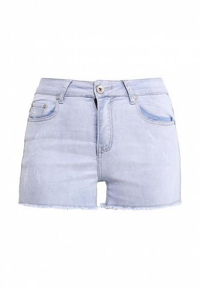 Шорты джинсовые By Swan голубой BY004EWRPC19 Китай  - купить со скидкой