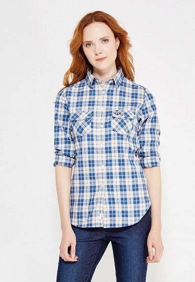 Купить Рубашка Franklin & Marshall голубой FR949EWVGB79 Италия