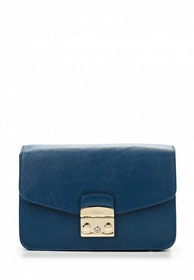 Сумка Furla METROPOLIS синий FU003BWOXX67 Италия  - купить со скидкой