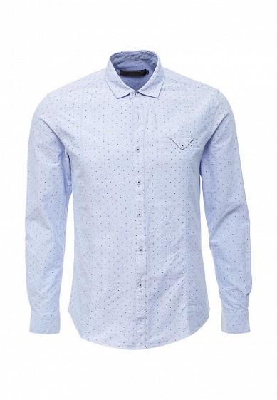 Купить Рубашка Gianni Lupo голубой GI030EMYMK41 Италия
