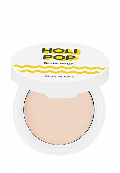 Купить Пудра Holika Holika прессованная Holipop Blur, тон 01, светло-бежевый, 10,5 г бежевый HO009LWYJK28 Корея, Республика