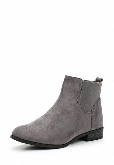 Купить Ботинки Ideal Shoes серый ID007AWWEI27 Китай