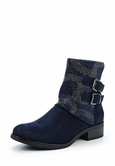 Купить Полусапоги Ideal Shoes синий ID007AWXXK33 Китай