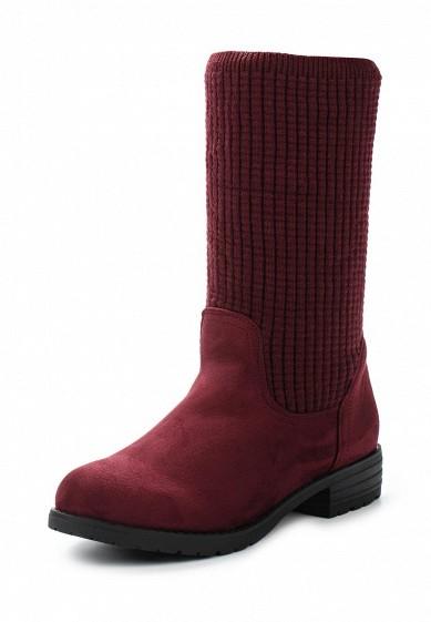 Купить Полусапоги Ideal Shoes бордовый ID007AWXYV79 Китай