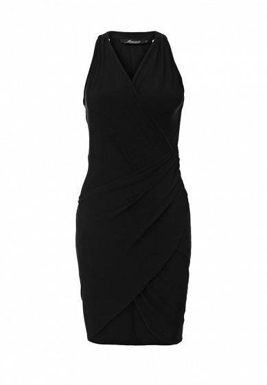 Платье Influence черный IN009EWJCU81  - купить со скидкой