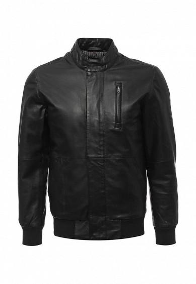 Купить Куртка кожаная Liu Jo Uomo черный LI030EMWFE44 Индия