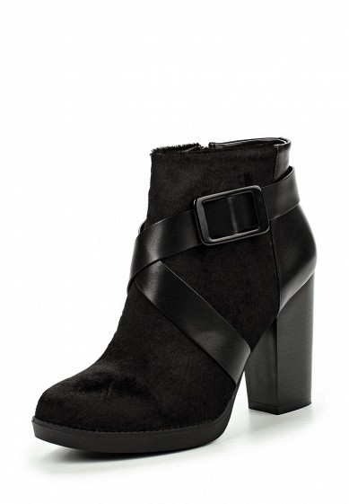 Ботильоны ARIES FAUX PONY ANKLE BOOT