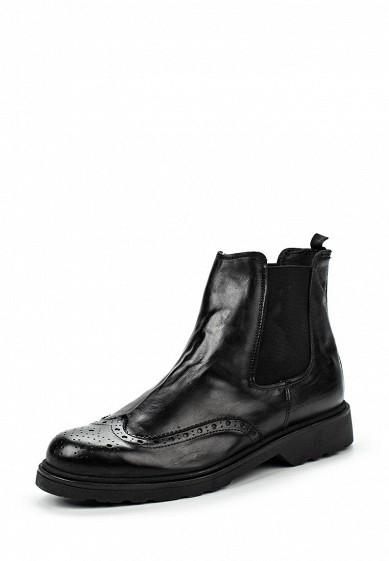 Купить Ботинки Martin Pescatore черный MA108AMKZP33 Италия