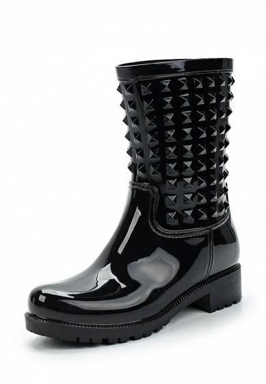 Купить Резиновые полусапоги Mon Ami черный MO151AWRIH65 Китай