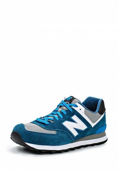 Кроссовки New Balance ML574 мультиколор, синий NE007AMDWX32 Вьетнам  - купить со скидкой