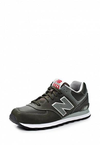 Кроссовки New Balance ML574 серый NE007AMJA765 Вьетнам  - купить со скидкой