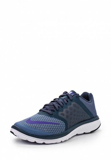 Кроссовки Nike WMNS NIKE FS LITE RUN 3 синий NI464AWHBW39 Вьетнам  - купить со скидкой