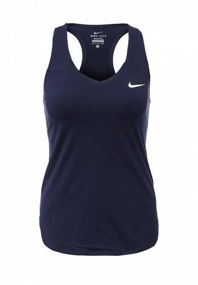 Майка спортивная PURE TANK Nike синий NI464EWHBM14  - купить со скидкой