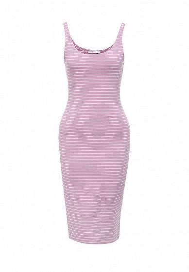 Платье oodji розовый OO001EWSXC79  - купить со скидкой